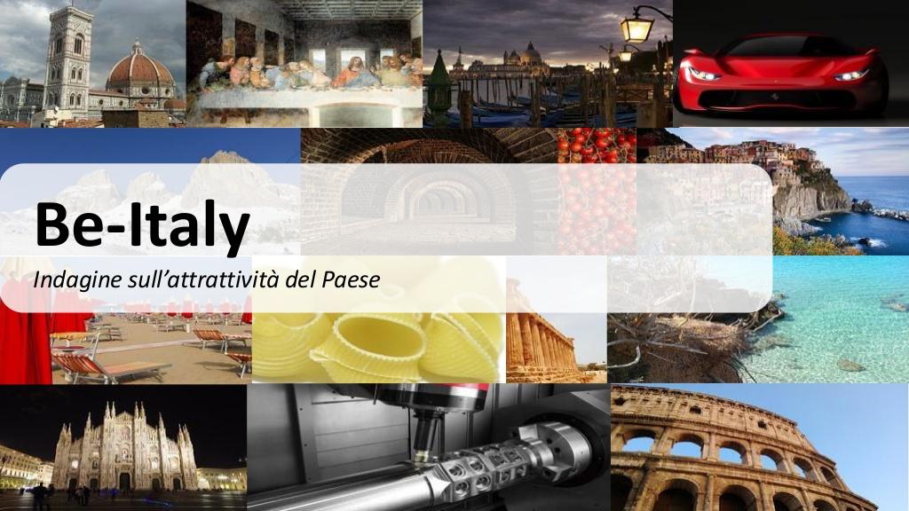 L'Italia è prima al mondo come meta turistica più desiderata