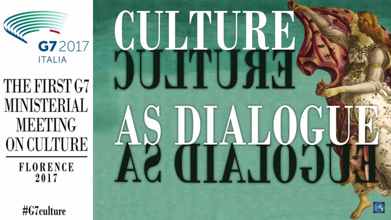 Da Firenze l'impegno della comunità internazionale nei confronti della cultura