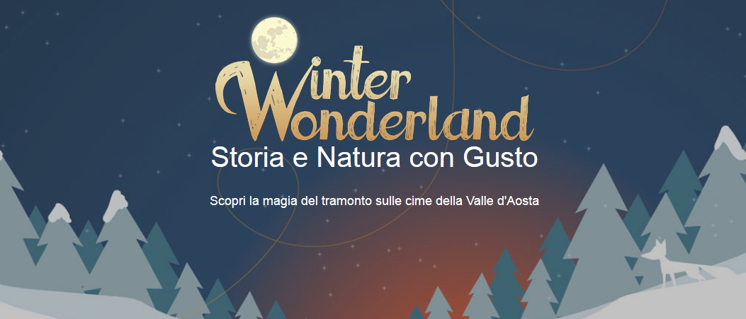 winter wonderland aosta