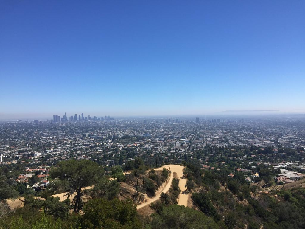 Il panorama di Los Angeles