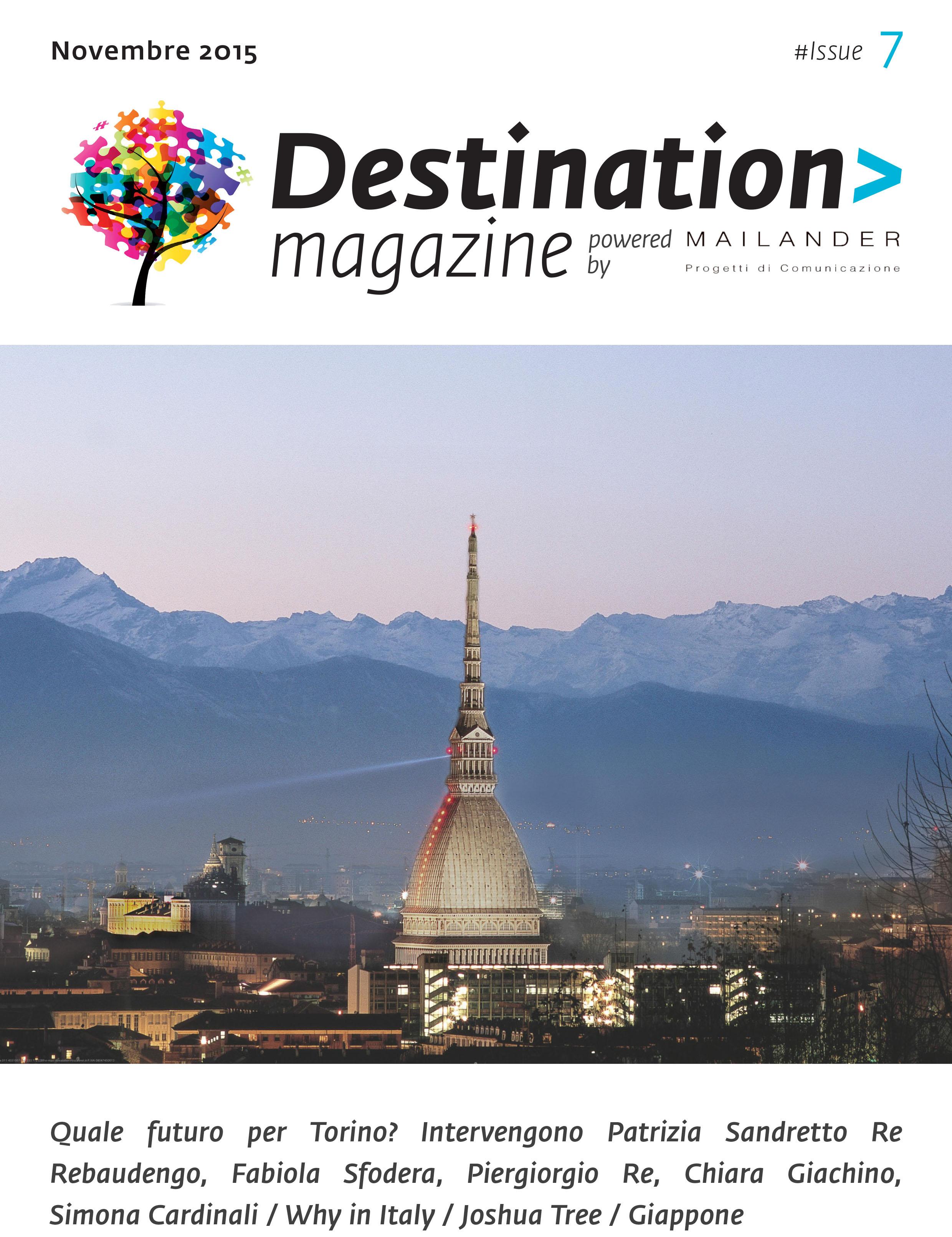 Destination Magazine #07 - Ottobre-Novembre 2015