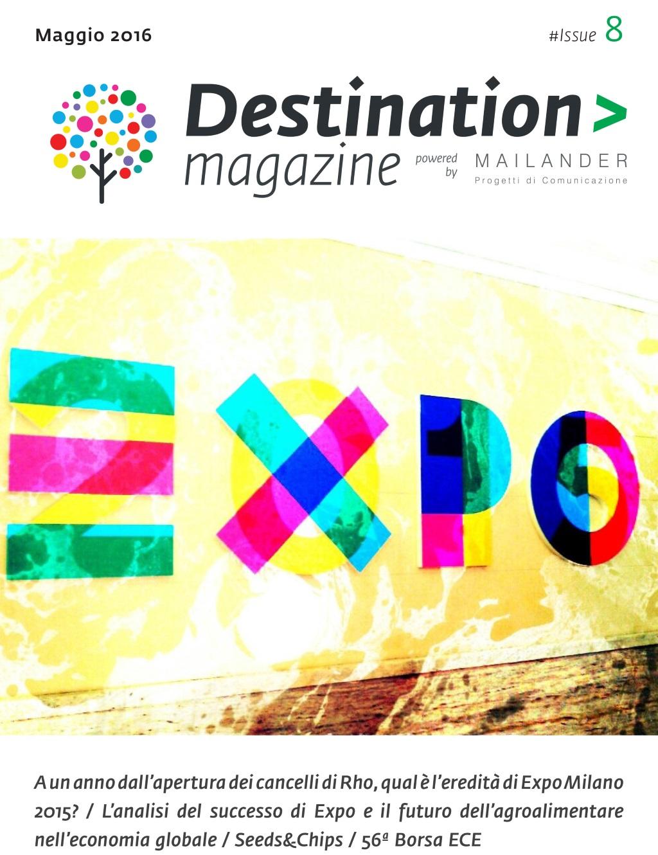 Destination Magazine #08 - Maggio-Giugno 2016